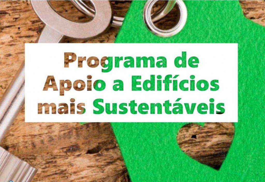 Apoio Edifícios Sustentáveis