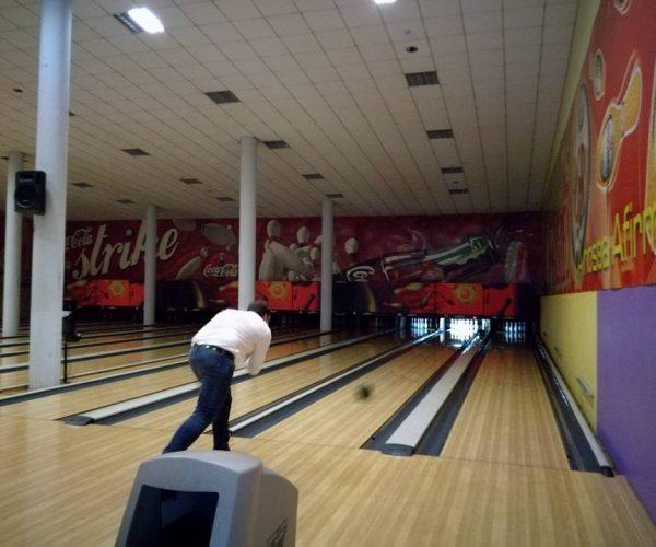 Fomos ao Bowling